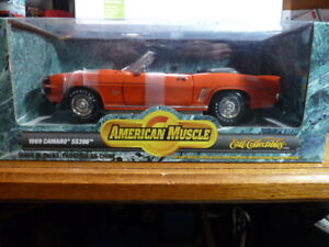 Etrl Collectibles American Muscle 1969 Camaro SS396 Convertible, 1:18 NIB