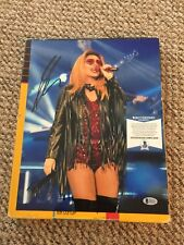Shania Twain Signed 11x14 Photo Beckett Certified