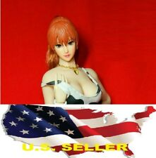 "Kasumi 1/6 OB Head Sculpt Carving Beautiful Girl For 12"" Phicen UD Body ❶USA❶"