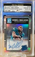 2016 WENDELL SMALLWOOD GRADED GEM MT 10 DONRUSS OPTIC RATED ROOKIE AUTO /99