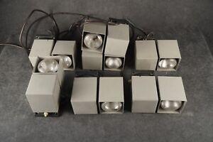 Kaiser Leuchten - 6015 Primat - Grau- Cube - drehbare Wandlampe 60s