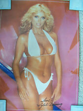 Hot 80's Pin-up Blond Girl Love SYBIL DANNING 1981 Poster B Movie Actres Bikini