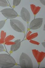 John Lewis Flowers John lewis wallpaper rolls sheets ebay new john lewis paper flowers floral wallpaper colour coral sisterspd