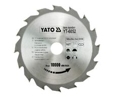 HM sawblade , Circular saw blade 140 x 20 , 16 Teeth WZ , Wood sawblade