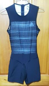 Adidas Weightlifting Singlet Crazy Power Suit Black Grey DJ2998 Men's M New $140