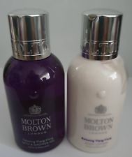 molton brown relaxing ylang ylang bath & shower gel + body lotion 100ml
