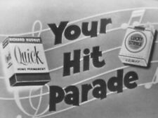 """16mm FILM  1956 TV SHOW   Music w/ Raymond Scott Orchestra  """" YOUR HIT PARADE """""""