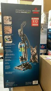 BISSELL 2256K Cleanview Swivel Rewind Pet Upright Bagless Vacuum Cleaner Teal