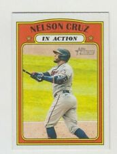 (10) Nelson Cruz 2021 TOPPS HERITAGE IN ACTION CARD LOT #308 MINNESOTA TWINS