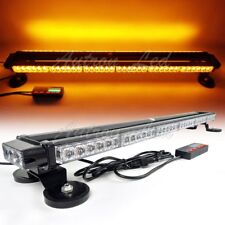 "38"" 78W LED Traffic Adviser Warning Emergency Signal Roof Strobe Light Bar Amber"