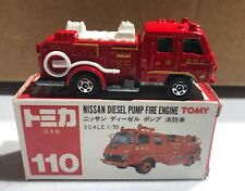 Tomy Nissan Diesel Pump Fire Engine 1/90 NEW 'Sullys Hobbies'