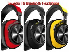 Bluedio T6 Noise Cancelling Headset Wireless Bluetooth w/ Microphone Al-Ti Alloy