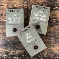 """Lord of the rings trilogy. """"Tolkien edit"""" second edition second impression 1967"""
