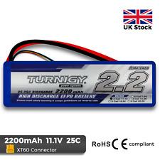 Turnigy 2200mAh 3S 11.1V 25C - 35C Lipo Battery Pack RC Plane Quad Car