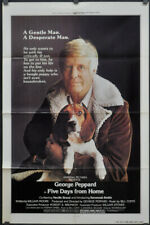 FIVE DAYS FROM HOME 1978 ORIG 27X41 MOVIE POSTER GEORGE PEPPARD SHERRY BROUCHER