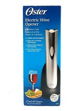 Oster Electric Wine Bottle Opener Cordless and Rechargeable 4207