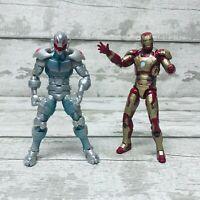 "Hasbro Marvel Legends BAF Series Ultron & Iron Man 6"" Action Figures Bundle"
