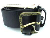 """DIESEL Leder Designer Gürtel """"Biffy"""" Leather Belt  85cm 34mm 00SG4K  #19"""