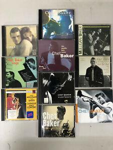 CHET BAKER - Jazz - Lot of 10 CDs   - Gerry Mulligan