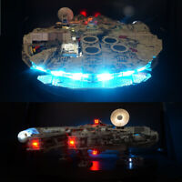 LED USB light kit for 75192 Star War Falcon Millennium Advanced Version set kit