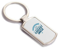 Uncle Gift Birthday Key Ring Personalised To Be Present Fathers Day Idea