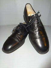 Very Nice - Bally - Black Oxfords - Made in Switzerland - Size 7.5D