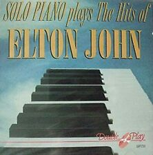 Various Artists - Solo Piano Play The Hits Of Elton John, Various Artists, Used;