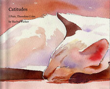 Book Siamese Cat Art Watercolor Painting with quotes Chocolate Seal Point Gift