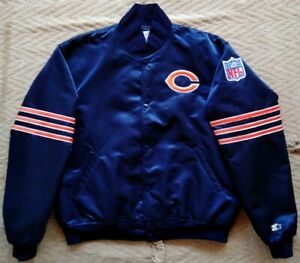 Vintage Chicago Bears Pro line Starter Jacket football NFL. Size. XL Made in USA