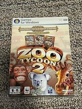 Zoo Tycoon 2 Zookeeper Collection New Sealed