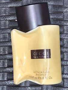 Gucci by Gucci for Women Perfumed Body Lotion 6.8 oz/200 ml brown cap Damaged b