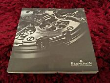 Blancpain Watch Catalogue 2018 - Brand New English Issue