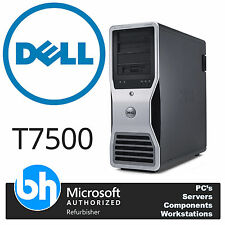 Dell T7500 Quad Core Precisión Torre E5620 2,40 ghz 24GB RAM 500 GB Windows 10