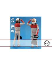 1/24 MODERN F1 DRIVER FIGURE OPENING VISORS TAMIYA ESCI