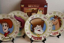 Toy Story Woody's Round Up 4 Dish plate Woody Prospector Jessie Pixar Japan