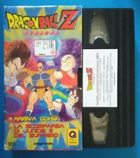 VHS Ita Animazione DRAGONBALL Z 8 deagostini 14 episodi 60 Min no dvd cd (V159)