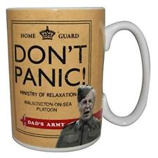 OFFICIAL DADS ARMY DON'T PANIC CERAMIC COFFEE MUG CUP NEW IN GIFT BOX