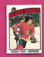1976-77 OPC # 213 HAWKS BOBBY ORR  EX CARD (INV# D8077)