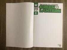 The Green Lantern #1 (2019)  Blank Variant