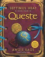 Septimus Heap, Book Four: Queste von Sage, Angie   Buch   Zustand gut