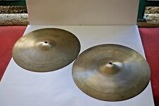 "14"" Zildjian Avedis New Beat Hi-Hat Cymbals - Vintage Hats"