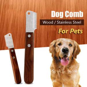 Pet Supplies Pet Comb Hair Remover Brush Pet Hair Trimming Dog Comb Knife