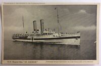 Rare HMHS Hospital Ship St George WW1 - Great Western Railway/Canadian Pacific