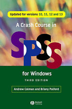 (Good)-A Crash Course in SPSS for Windows: Updated for Versions 10, 11, 12 and 1