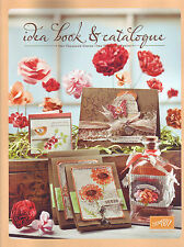 BRAND NEW STAMPIN' UP! 2011-2012 IDEA BOOK & CATALOGUE! Use for Inspiration!