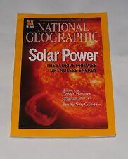 NATIONAL GEOGRAPHIC MAGAZINE SEPTEMBER 2009 - SOLAR POWER/KING PENGUINS/SOMALIA