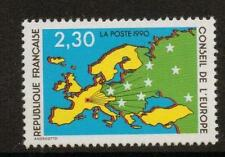 FRANCE SGC47 1990 MAP OF EUROPE 3f30 MNH