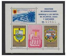 Colombia - 1961 Atlantica Tourism sheet - MNH - SG MS1087