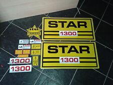 star slurry tanker stickers / decals