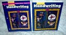3RD GRADE 3 HANDWRITING W/ A SIMPLIFIED ALPHABET WORKBOOK & PRACTICE MASTERS